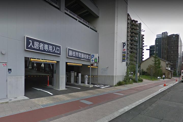 駅北駐車場